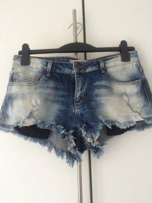 Kurze Jeansshort von Zara