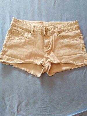 Atmosphere Pantaloncino di jeans crema-beige