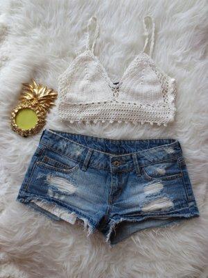 Kurze Jeansshorts von Mango Jeans in 34
