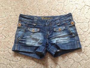 Kurze Jeansshorts XXS