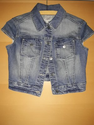 kurze Jeansweste