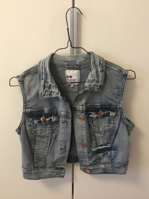 Kurze Jeansweste von Even & Odd