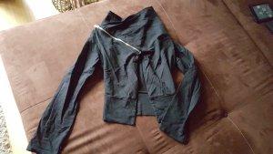Kurze Jersey Cardigan, asymmetrisch