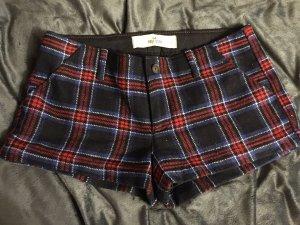 kurze karierte Stoff Hot Pants von Hollister