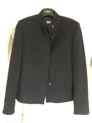 Jil Sander Blazer de lana negro