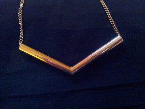 Kurze Kette in gold von H&M