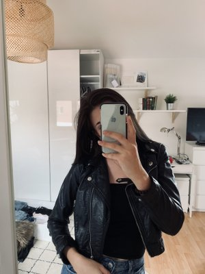 H&M Jack van imitatieleder zwart