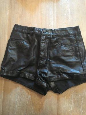 H&M Divided Pantalon court noir