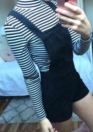 H&M Pantalón corto tipo peto negro
