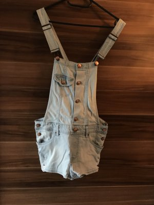 H&M Divided Dungarees azure