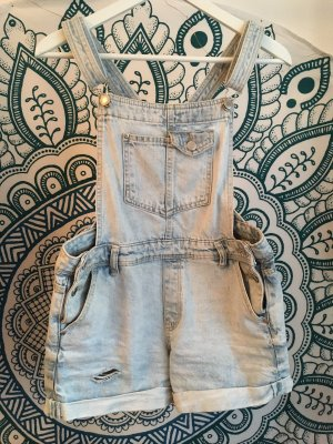 Bershka Dungarees light blue