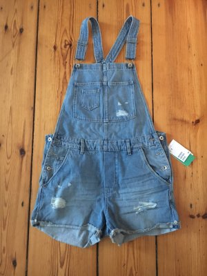 H&M Dungarees blue-light blue
