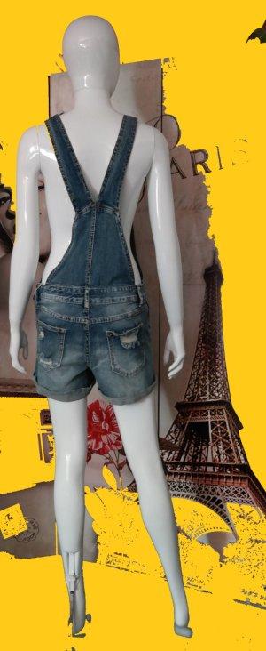 100% Fashion Short met bovenstuk blauw