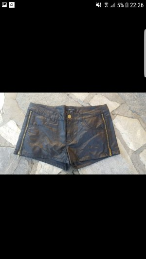 Kurze Leder Hotpants