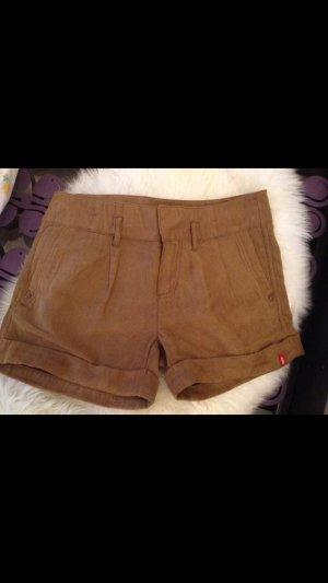Kurze Leder Shorts