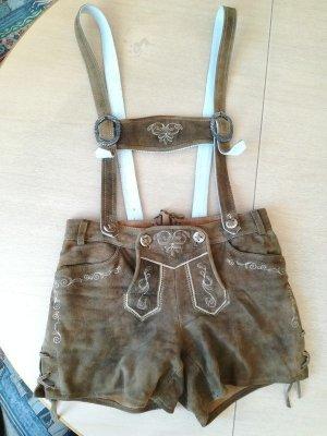 Spieth & Wensky Pantalon traditionnel en cuir marron clair cuir