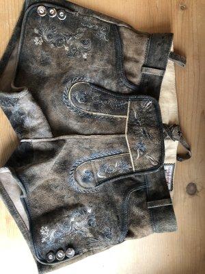 Stockerpoint Pantalon traditionnel en cuir bronze-taupe
