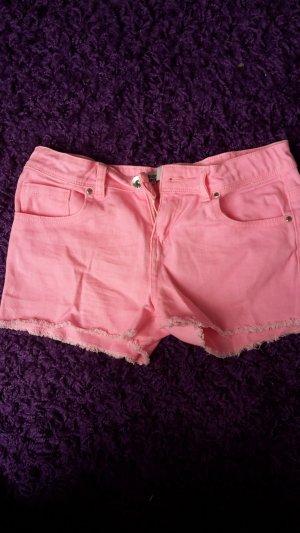 Kurze pinke Shorts von Denim&Co.