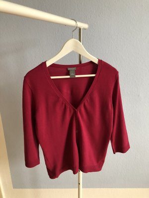 Ann Taylor Cardigan raspberry-red