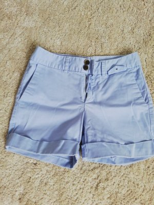 Zara Basic Hot pants lichtblauw