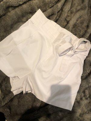 Zara Pantalón de pinza blanco
