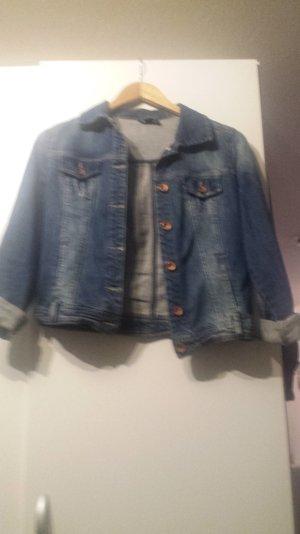 kurze schöne Jeansjacke