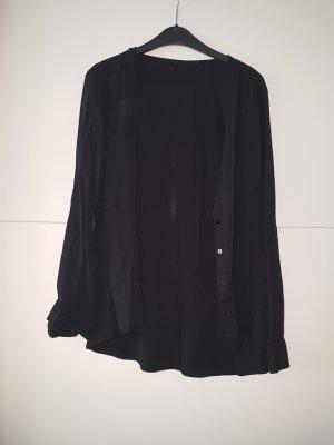 kurze schwarze Bluse