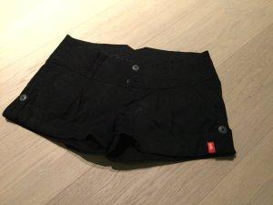 Kurze schwarze Hose Edc Gr. 34