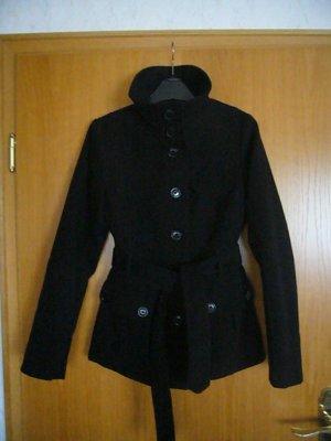 kurze schwarze Jacke, H&M, Gr. 34