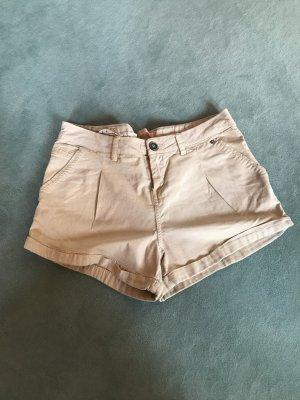Bershka Short Trousers beige
