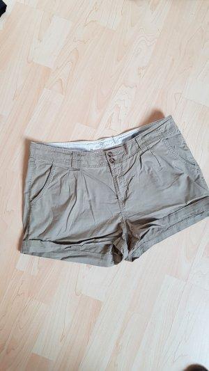 Kurze Short Größe 40 H&M beige/sandfarben