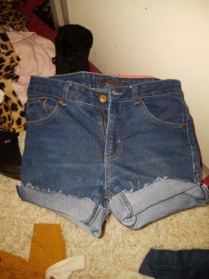 kurze Shorts hotpants high waist