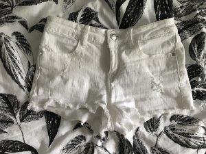 Kurze Shorts / Hotpants weiß