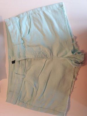 Kurze Shorts  minzfarbe