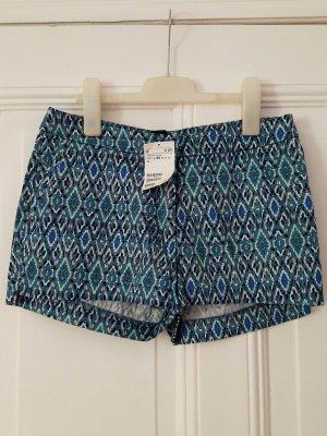 kurze Shorts mit Muster