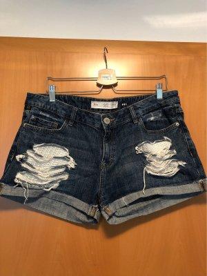 Kurze Shorts Used Optik