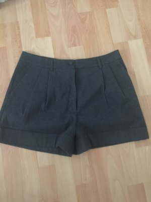 H&M Hot Pants anthracite mixture fibre