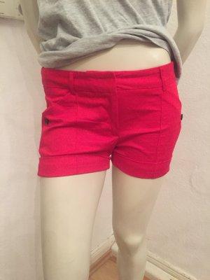 Kurze Shorts (Zara) rot Gr. XS