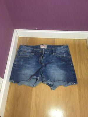 Kurze skinny Jeans