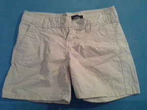 Tally Weijl Bermudas oatmeal-natural white cotton