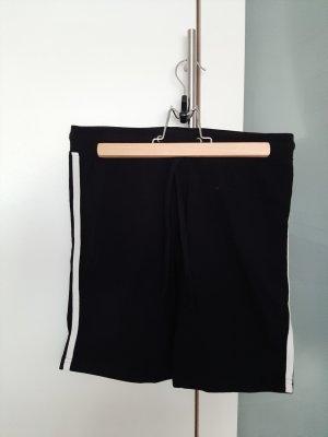 Blue Motion Sport Shorts white-black
