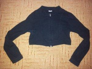 kurze Sport Jacke schwarz Gr. M