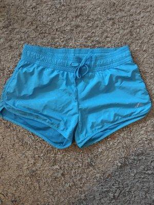 H&M Sport Shorts neon blue