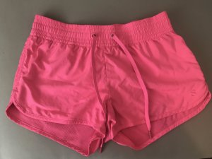 H&M Short de sport rose fluo
