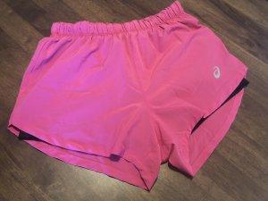 Asics Pantalón corto deportivo violeta