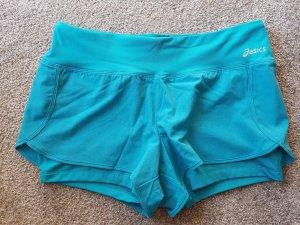 Asics Pantaloncino sport blu cadetto