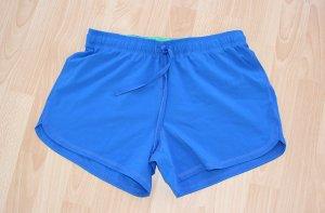 Crane Sportshort neon blauw-weidegroen Polyester