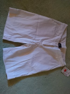 Flame Bermudas white cotton