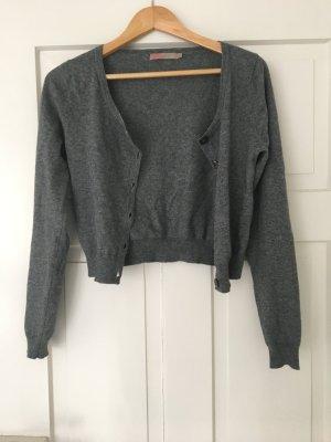 Kurze Strickjacke (Baumwolle/Wolle/Alpaca)