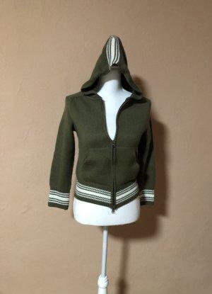 Shirt Jacket green grey-natural white